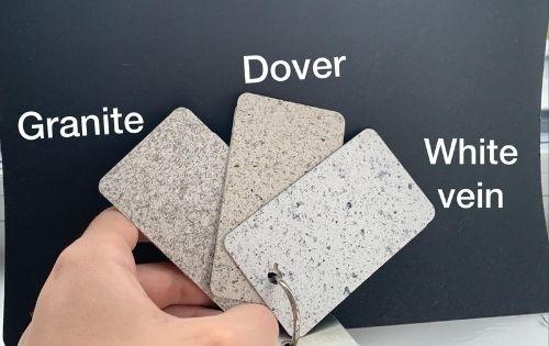 Worktop tiles Styling